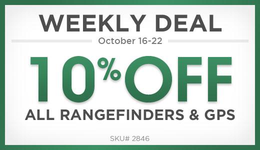 10% off rangefinders