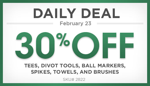 30% Off Select Accessories