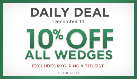 10% Off All Wedges