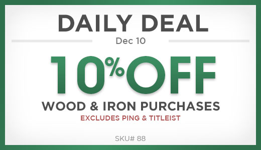 10% Off Wood & Iron Purchases
