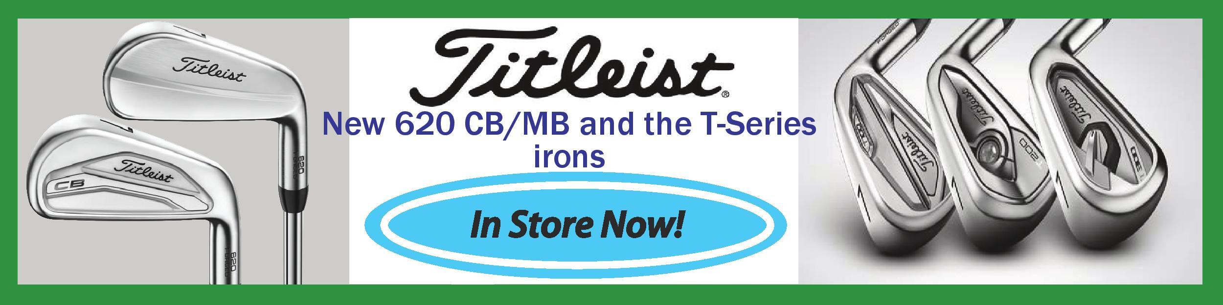 Titleist 620 CB/MB T banner