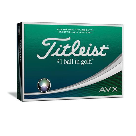 Dozen Titleist AVX Golf Balls